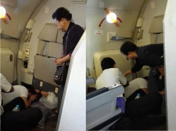 中国大妈飞机上救泰国空少:系产科医生