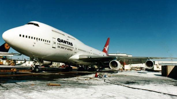 400飞机vh-oja是商业飞行时间最长的世界纪录保持者