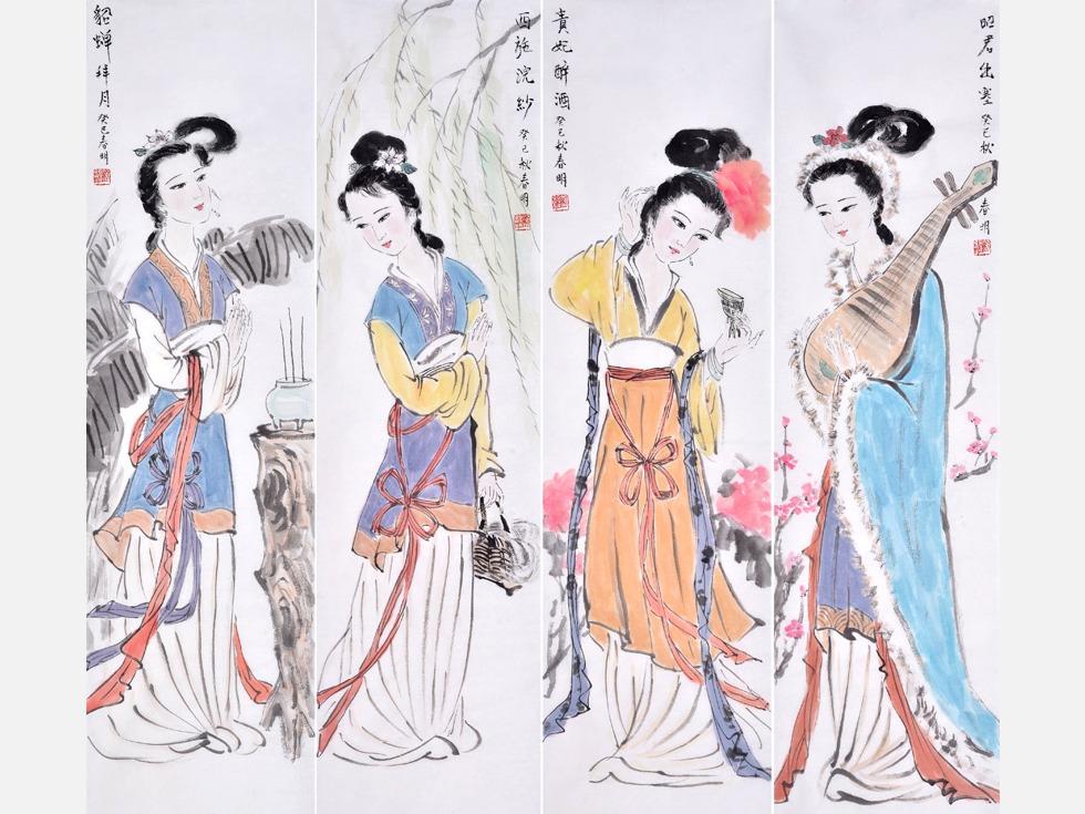 古代四大美女身后难以启齿的秘史 文化博览